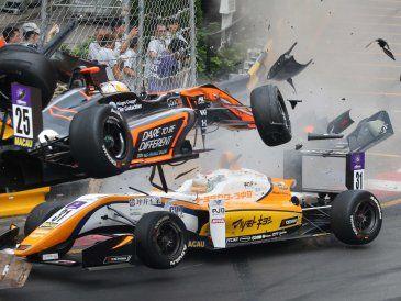 Así fue el terrible accidente de la piloto alemana de fórmula 3 en Macao