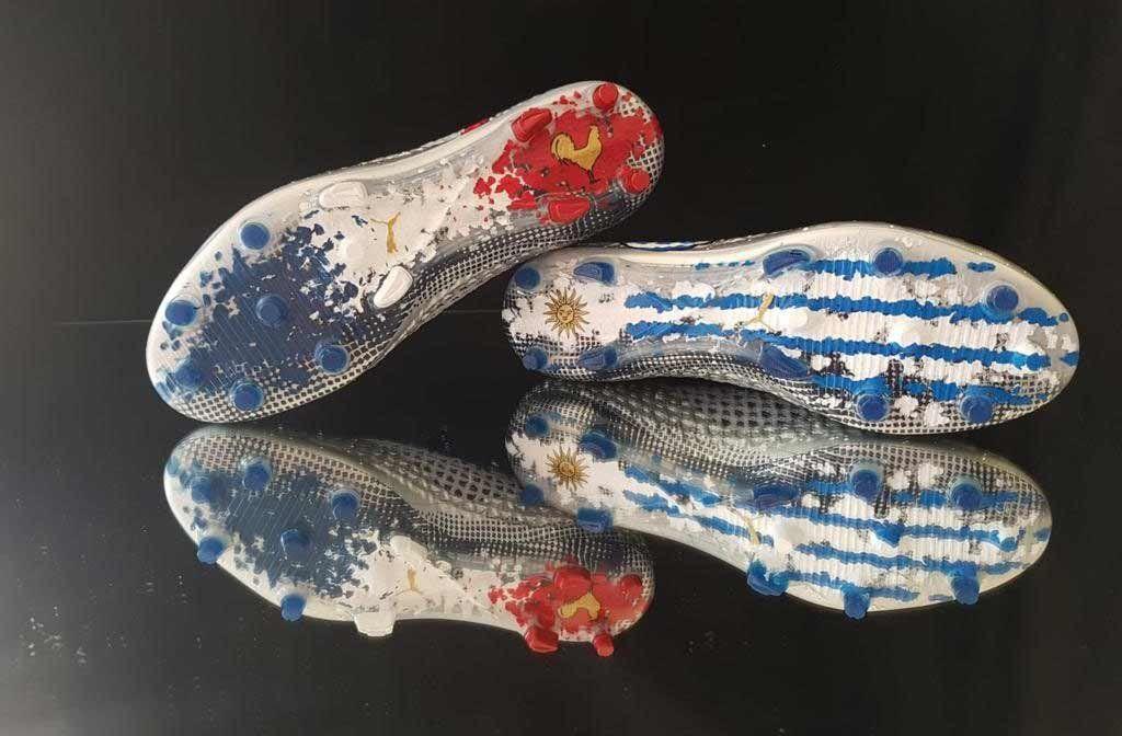 Los zapatos especiales de Griezmann para el amistoso Francia-Uruguay