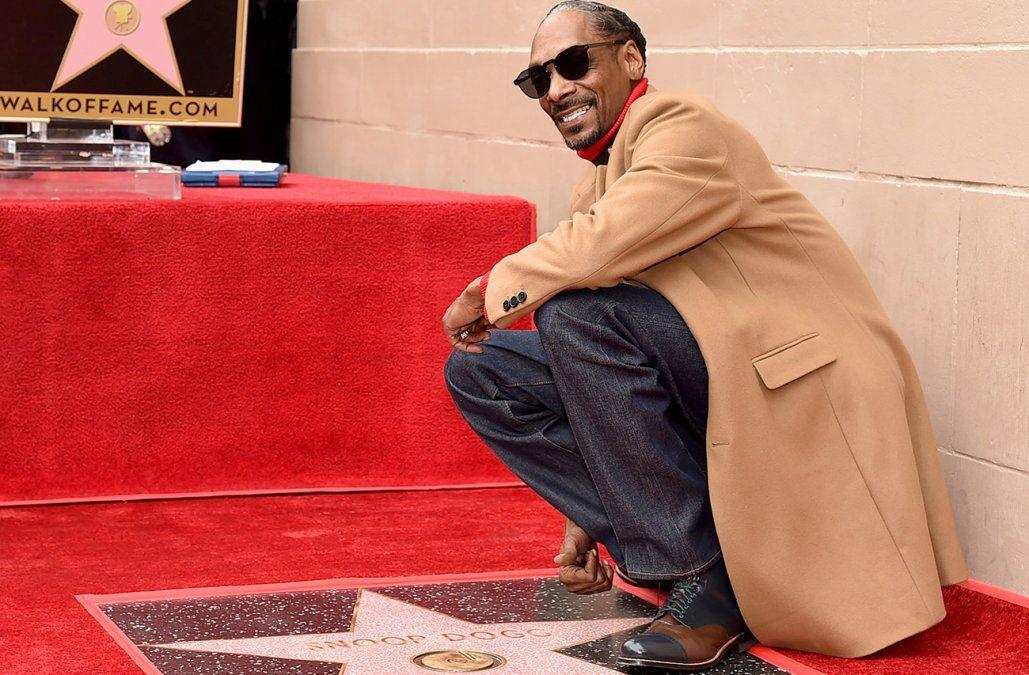 Paseo de la Fama en Hollywood recibe a Snoop Dogg