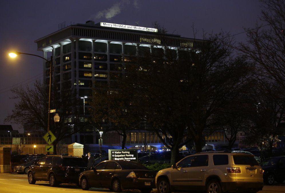 Al menos 4 muertos en tiroteo en un hospital de Chicago