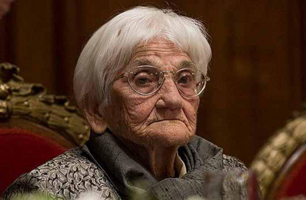 A los 98 años falleció Luisa Cuesta, referente de la búsqueda de los desaparecidos