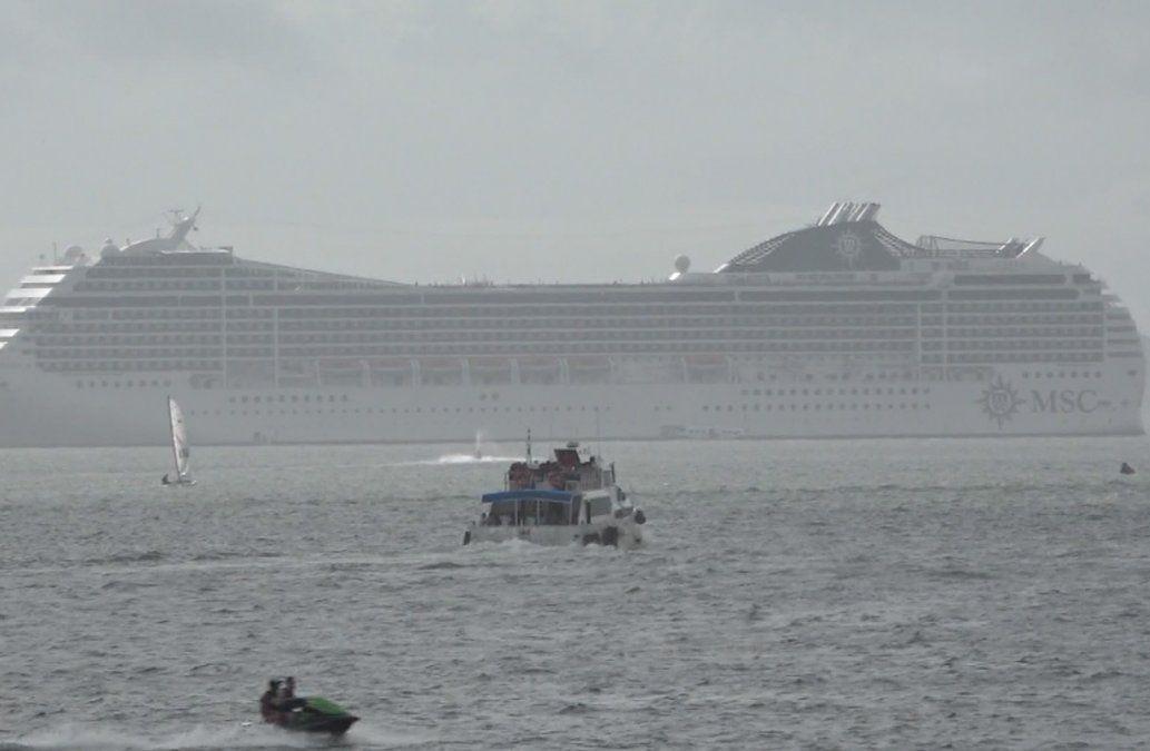 Llegada de cruceros a Montevideo y Punta del Este aumentará respecto al año pasado