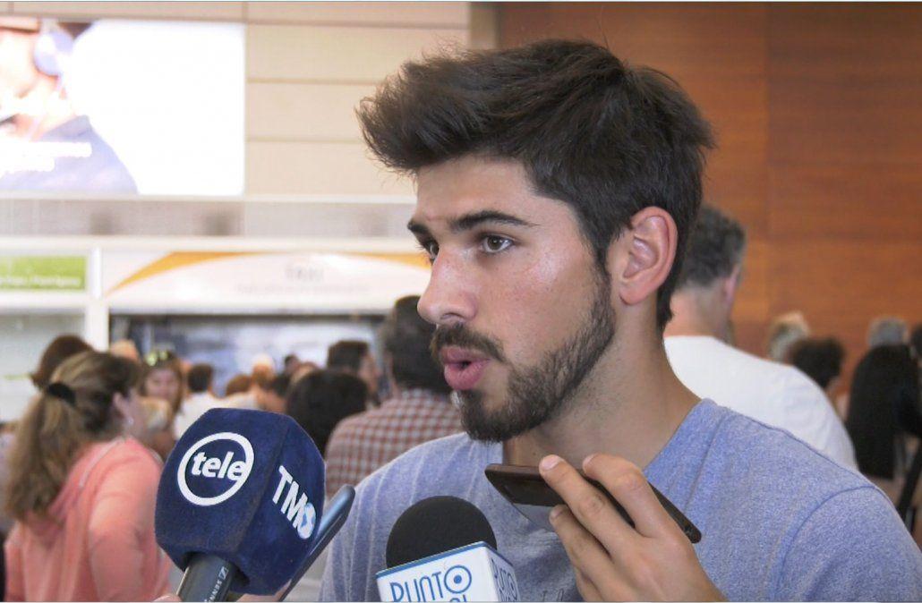 Los consejos de Cavani y Godín a Bruno Méndez en su debut con la mayor