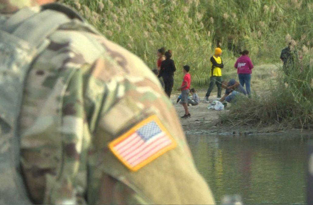 Trump dio permiso para disparar a matar a los migrantes que llegan a la frontera