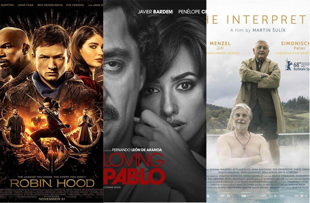 Los estrenos de cine del fin de semana; los recomendados de Jackie