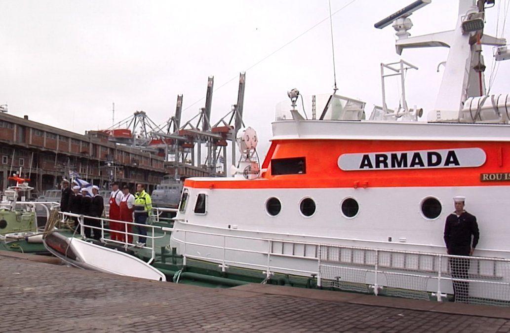 Isla de Flores e Isla de Lobos, los dos nuevos buques de la Armada Nacional