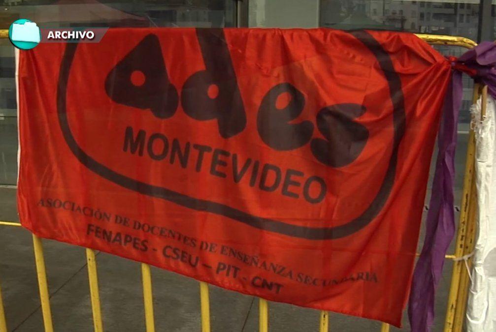 Comienzan paros zonales de docentes de Secundaria en Montevideo