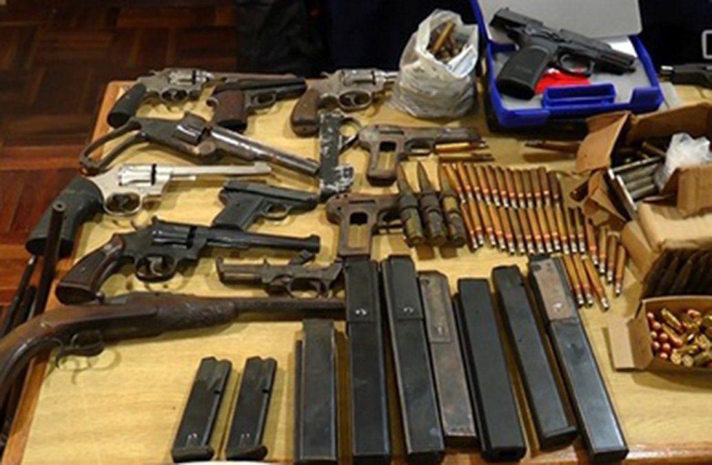 La Policía investiga organizaciones que alquilan armas.