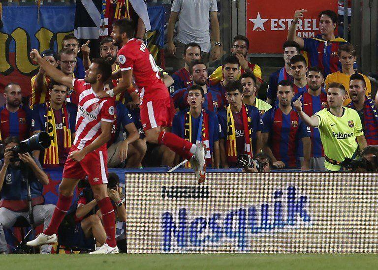 El uruguayo no para de hacer goles y ha convertido en revelación al Girona