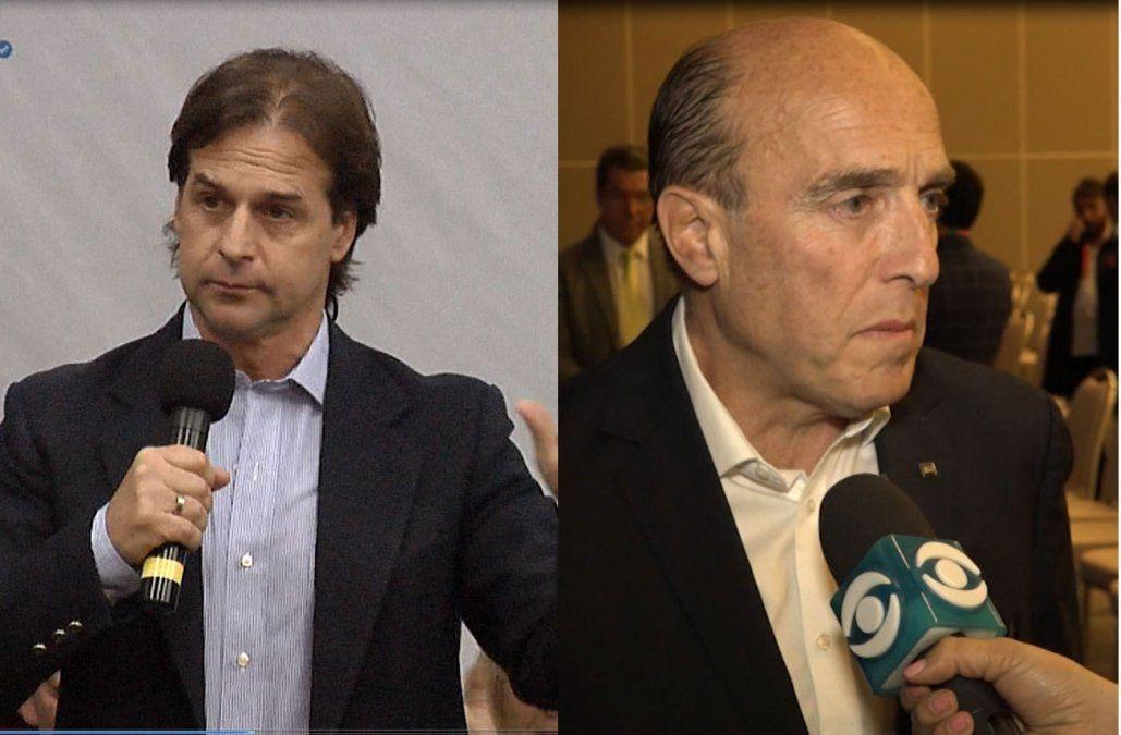 Amado inicia ronda de reuniones con Daniel Martínez y Lacalle Pou