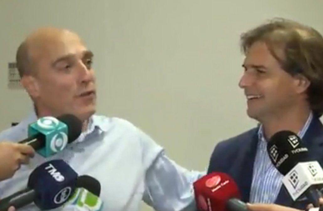 Si las elecciones fueran el domingo Martínez le ganaría a Lacalle Pou por 7 puntos
