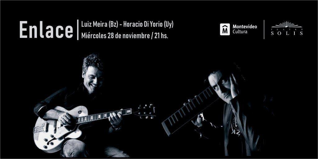 Luiz Meira y Horacio Di Yorio presentan Enlace