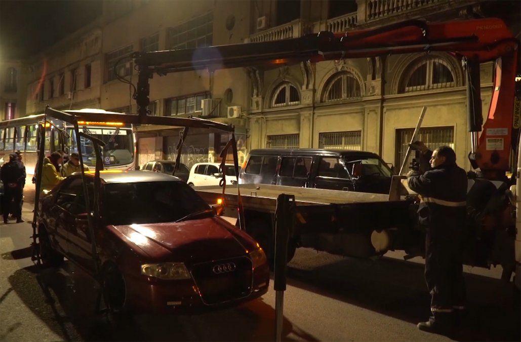 Intendencia multará y guinchará vehículos estacionados sobre veredas y canteros
