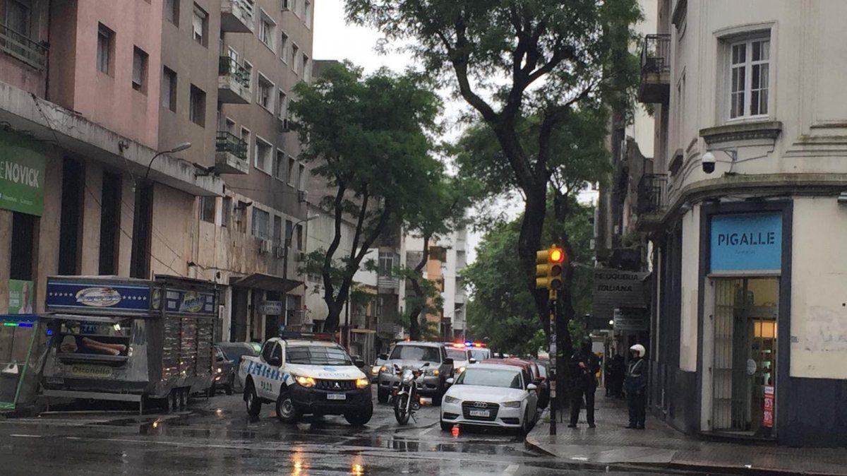 Operativo por usurpación de apartamentos otorgados por ANEP terminó con 15 detenidos