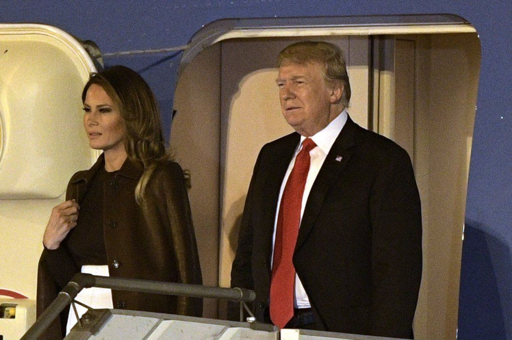 Trump llegó a Buenos Aires para la cumbre del G20 y la reunión con Xi Jinping