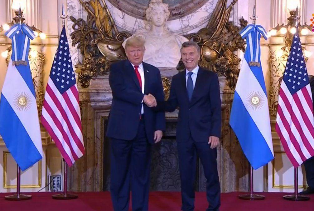 Trump en Argentina por G-20: Hace años que soy amigo de Mauricio Macri