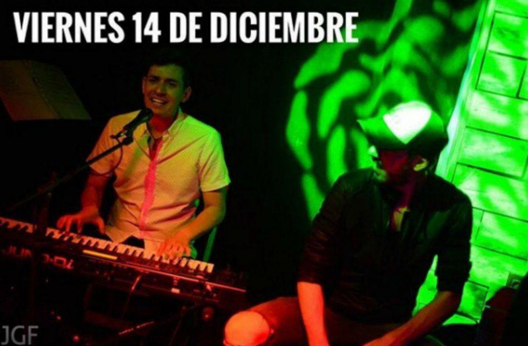 Ariel Fynn y Horacio Thove se presentan en Casa Uma Plaza Mateo