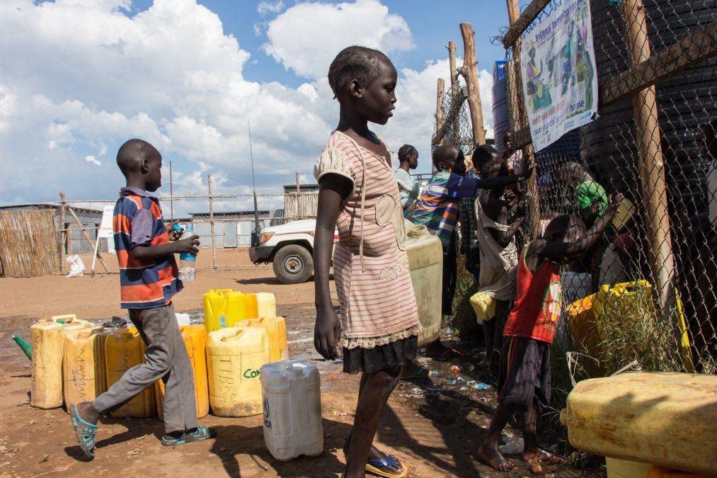 125 niñas y mujeres fueron violadas o apaleadas en diez días en Sudán del Sur