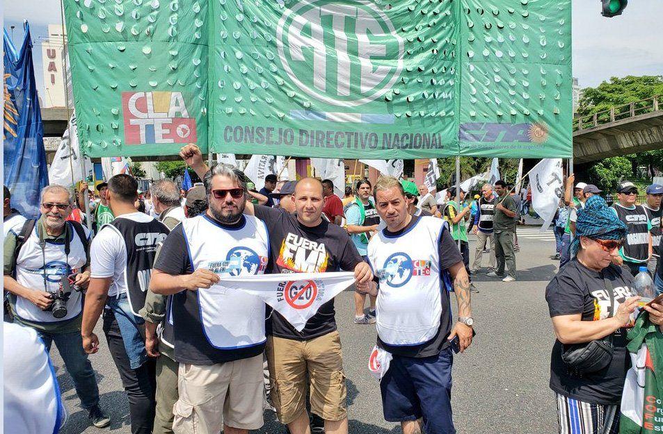 PIT-CNT comparte críticas contra el G20 pero no irá a Buenos Aires a protestar