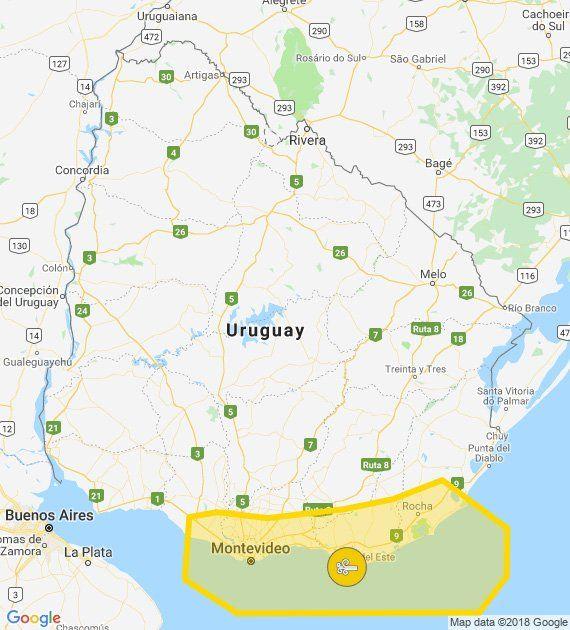 Actualizan alerta amarilla por vientos fuertes y persistentes, ahora para el sureste