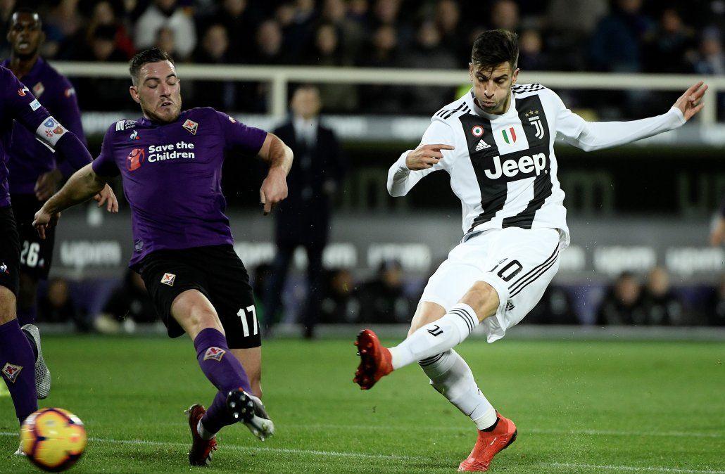 El golazo de Rodrigo Bentancur para la Juventus este sábado por Serie A