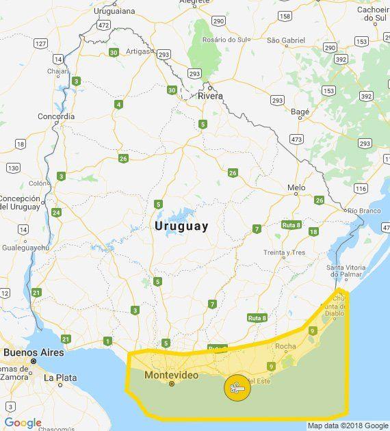 Extienden alerta amarilla por vientos fuertes y persistentes para el sureste