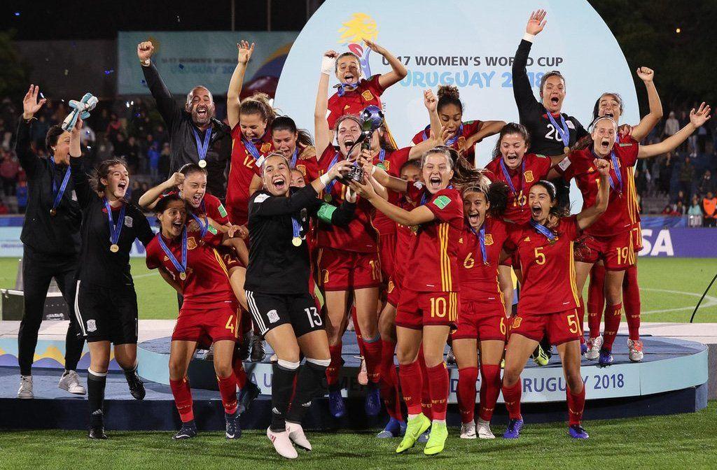 España ganó el mundial femenino sub 17 jugado en Uruguay