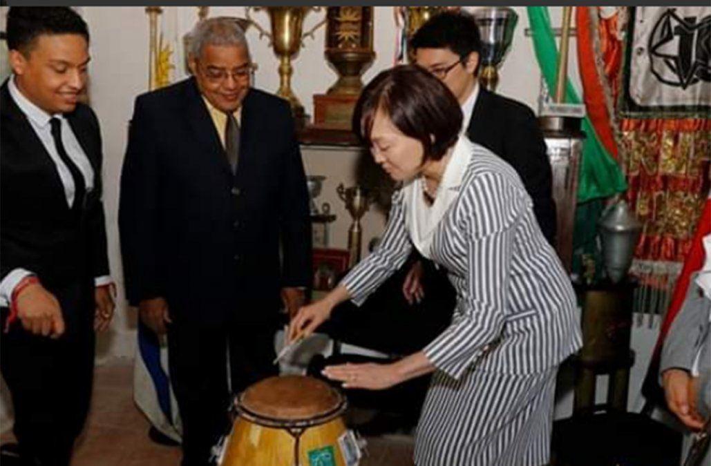 La primera dama de Japón.