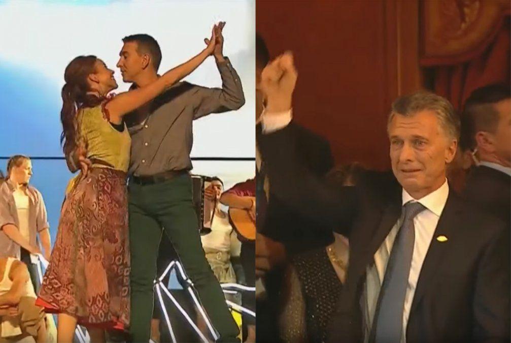 Julio Bocca volvió al escenario para bailar ante el G20 e hizo emocionar a Macri