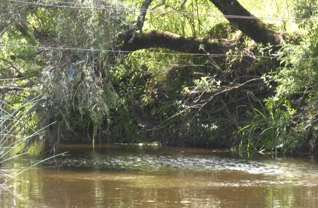 Una mujer apareció muerta en un arroyo cercano a Sarandí Grande