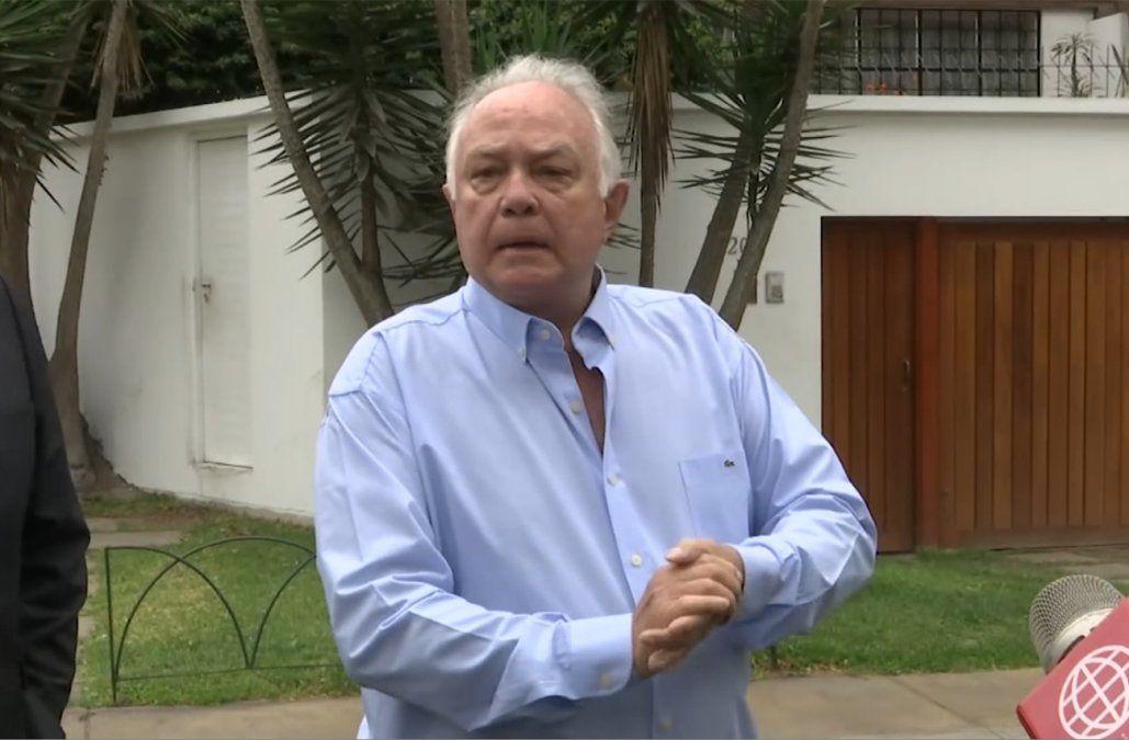Embajador Carlos Barros.