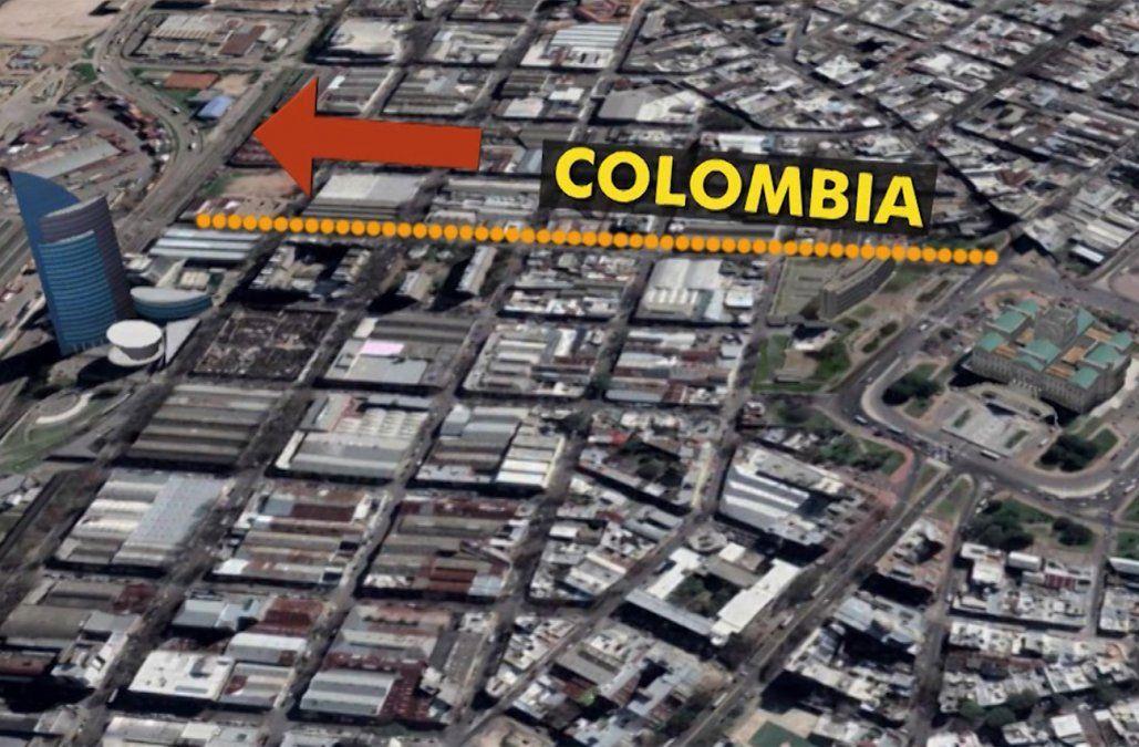 Desde este miércoles rige el flechamiento de la calle Colombia