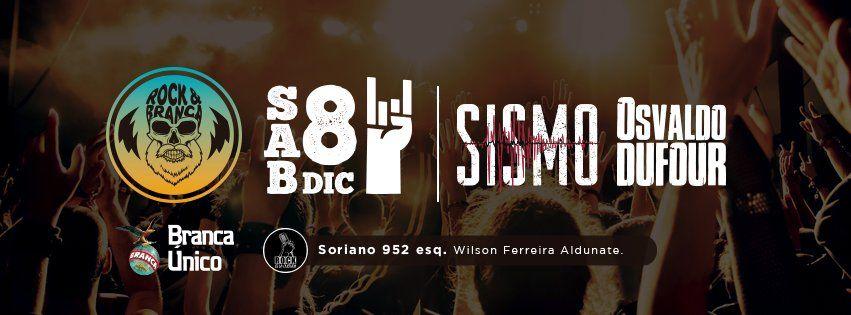 Sismo y Osvaldo Dufour despiden el año en una fiesta a puro rock