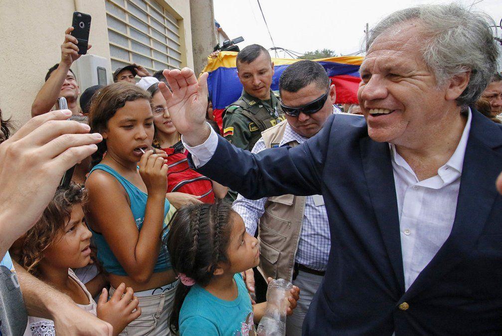 Almagro anuncia que buscará la reelección como secretario general de la OEA