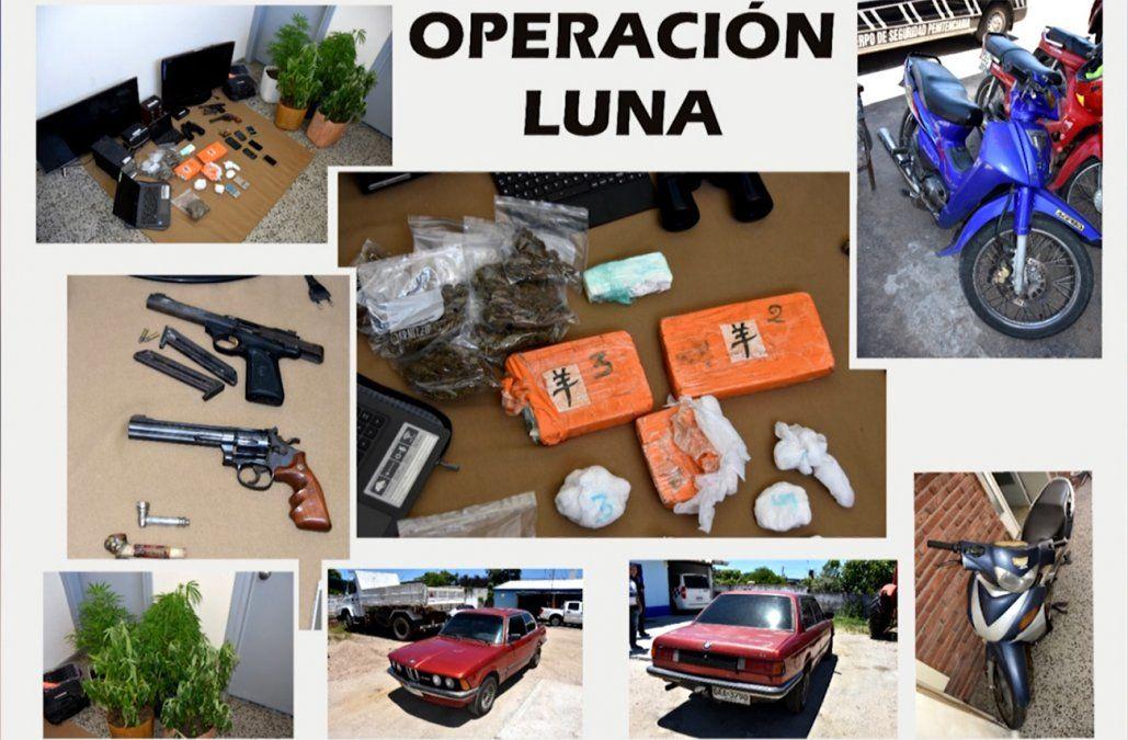 Ocho personas condenadas por narcotráfico y tenencia de armas en Florida