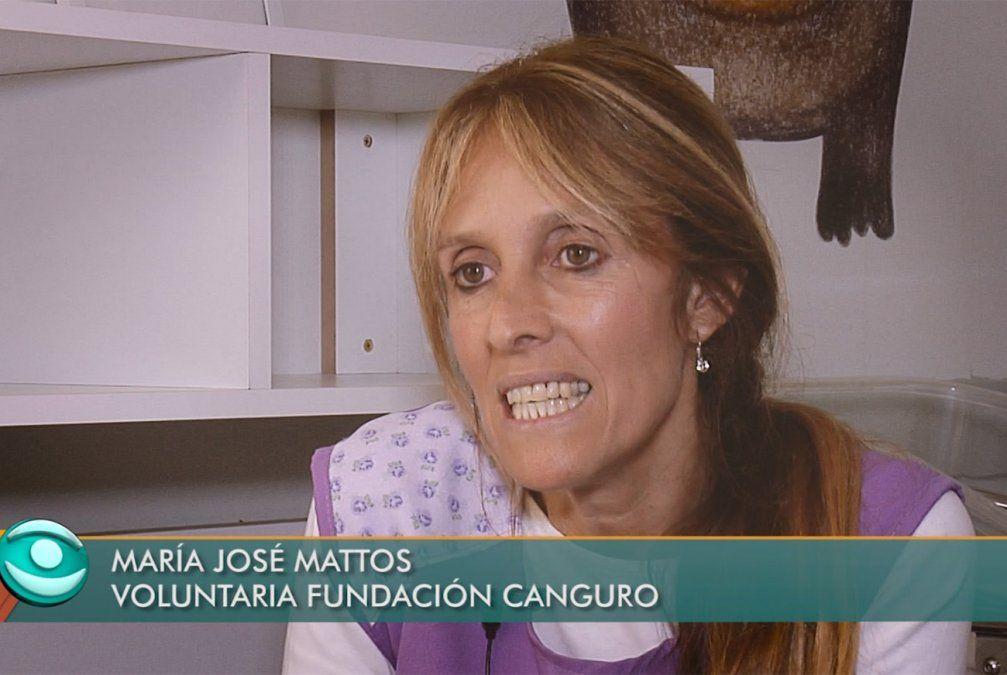 María José: una cangura que ofrece nutrición afectiva a bebés de otras mamás