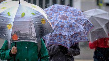 Anuncian lluvias y tormentas desde este martes y por el resto de la semana