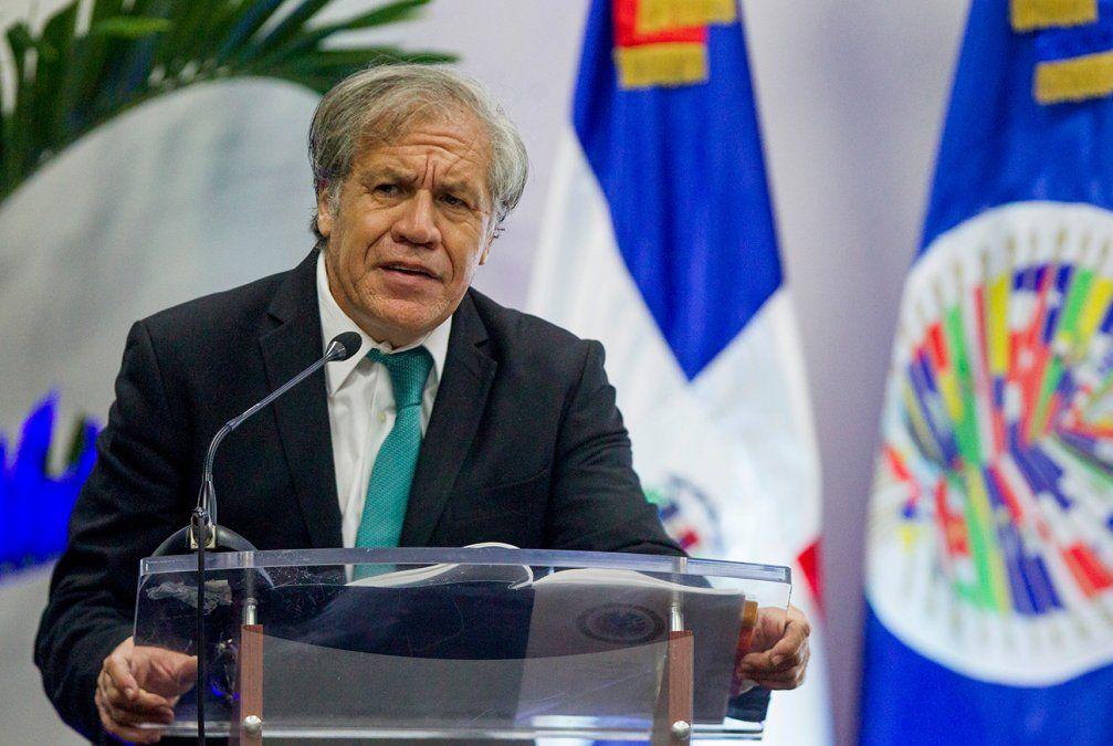 Almagro llamó a desconocer al nuevo gobierno de Nicolás Maduro