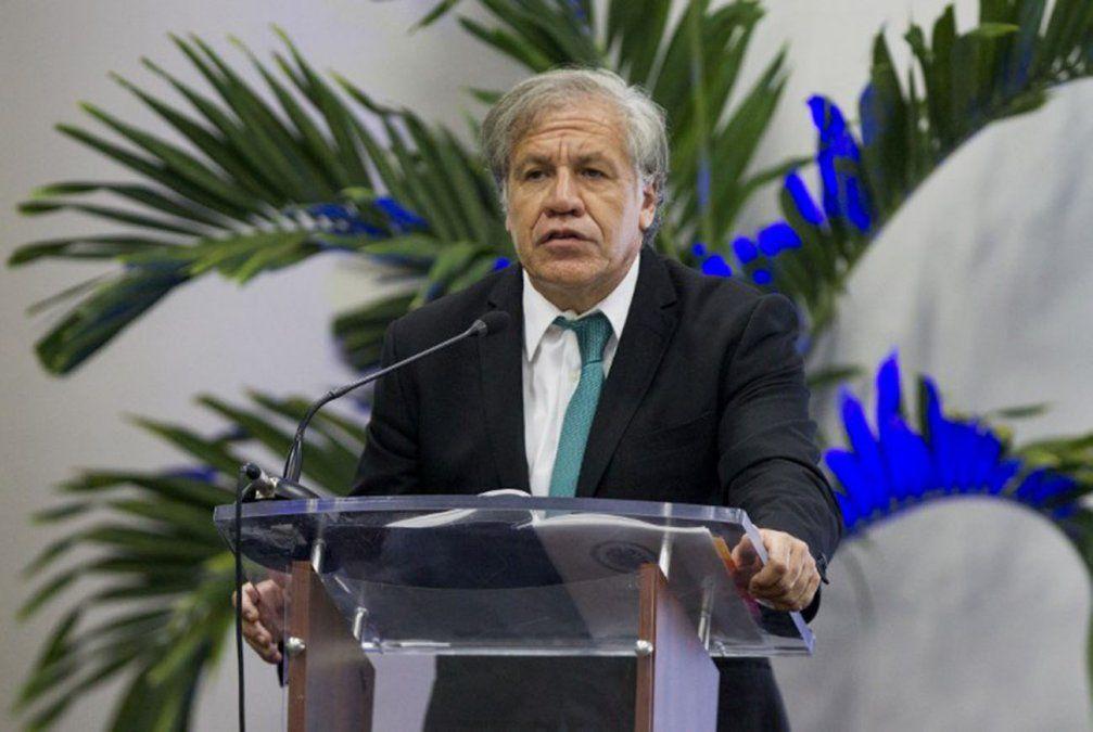 Secretario general de la OEA condena intimidación a Guaidó y rechaza diálogo con Maduro