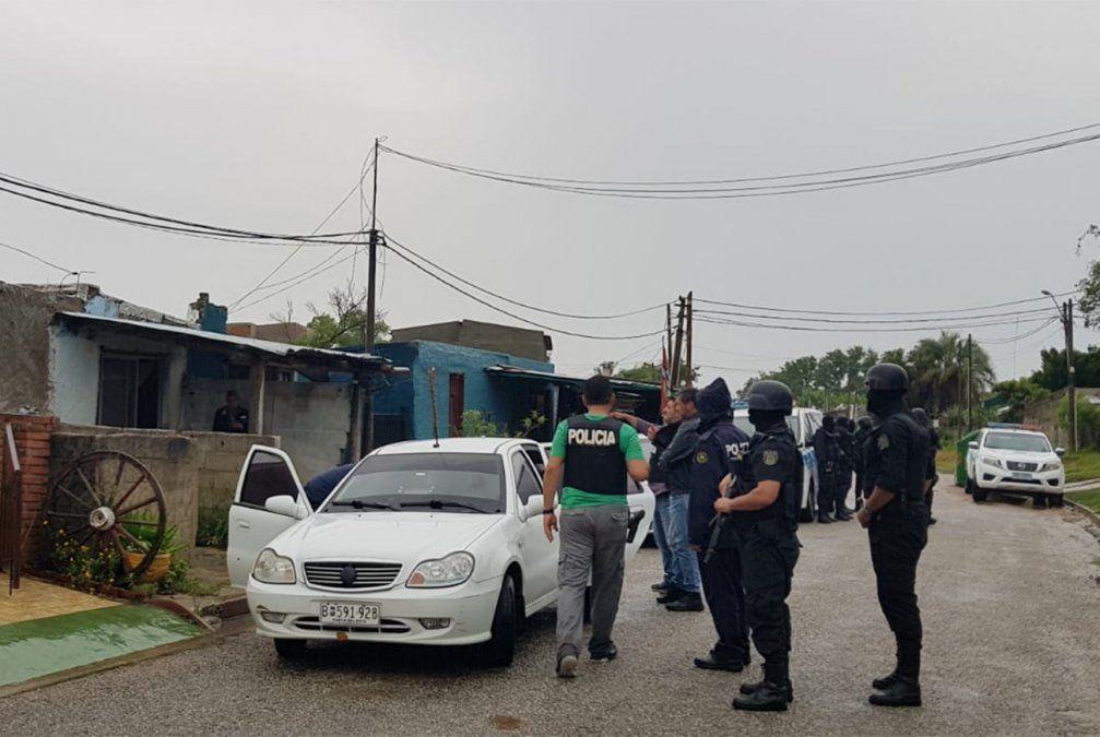 Operativo policial en San Carlos para desarticular banda narco