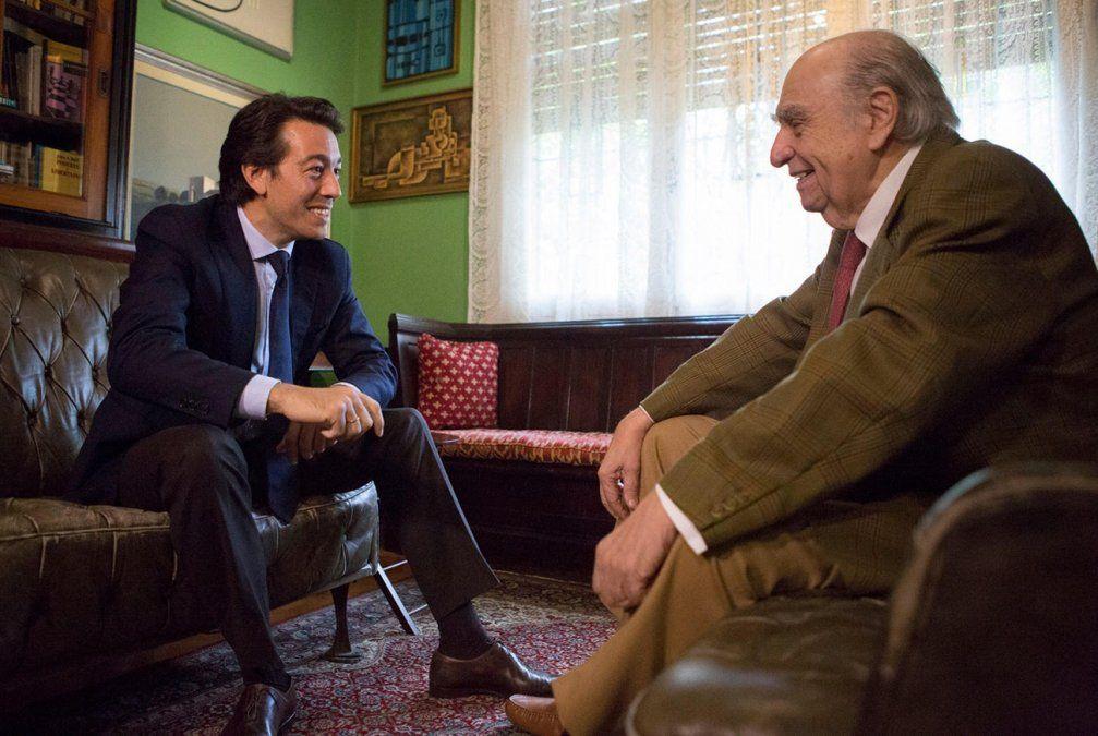 Juan Sartori visitó a Sanguinetti se llevó dos consejos