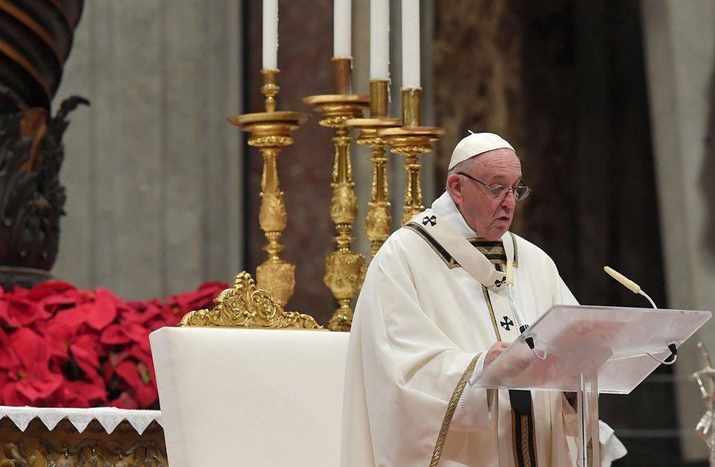 El Papa criticó la voracidad consumista de la humanidad