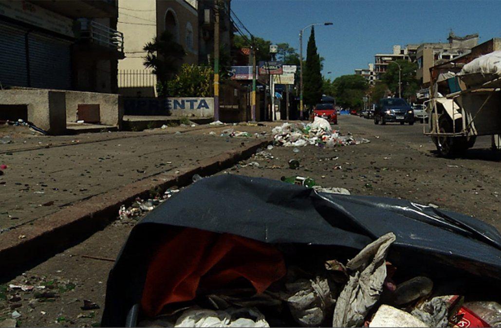 Polémica por quién debió controlar y vigilar la fiesta callejera con destrozos en Malvín