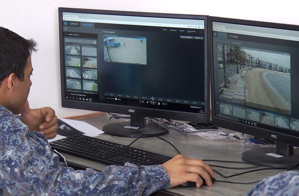 Ponen en funcionamiento las cámaras de seguridad en playas del este de Montevideo