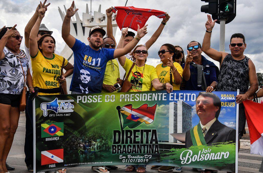 Bolsonaro asume este martes la Presidencia de Brasil