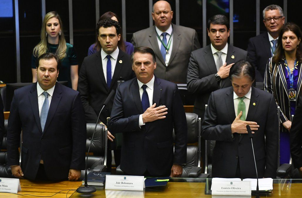 Jair Bolsonaro juró como nuevo presidente de Brasil