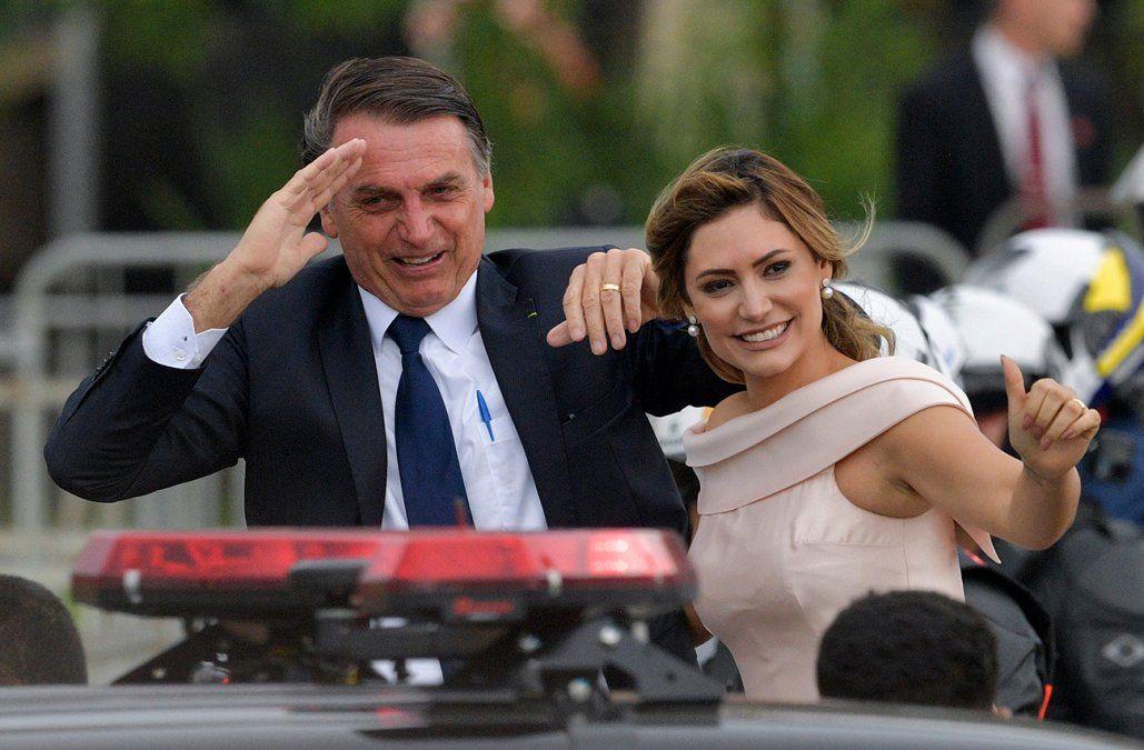 Asumió Bolsonaro y prometió combatir la corrupción, la delincuencia y la ideología de género