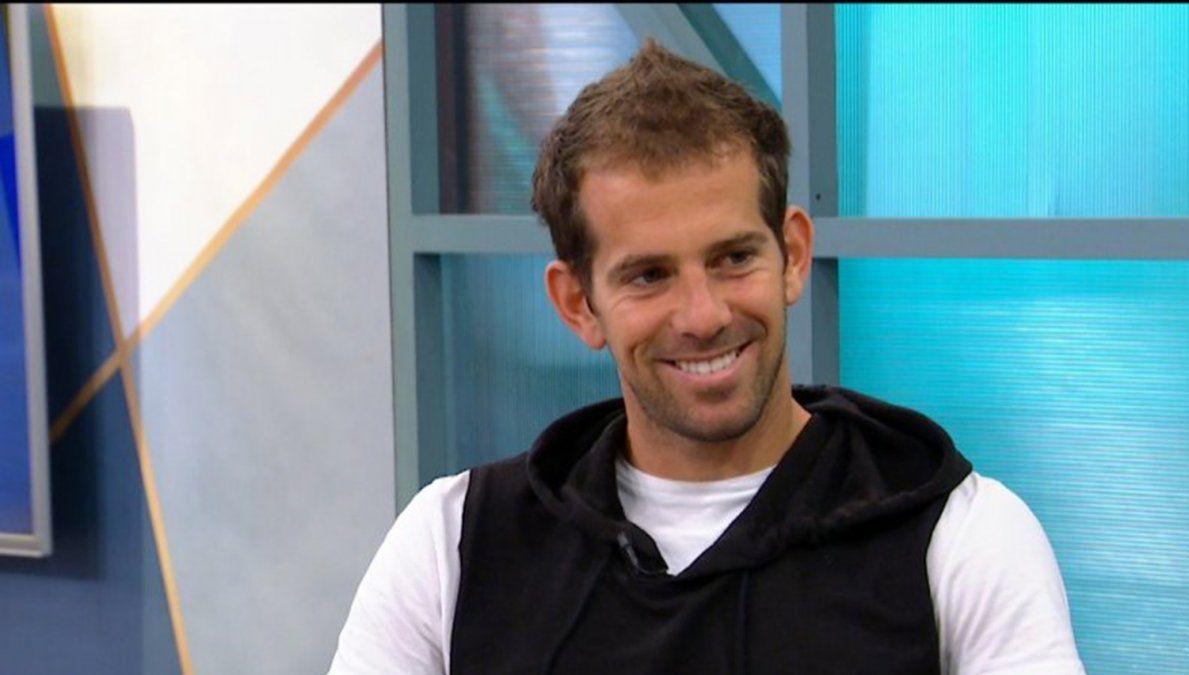 Diego Riolfo entrevistado en La Mañana en Casa
