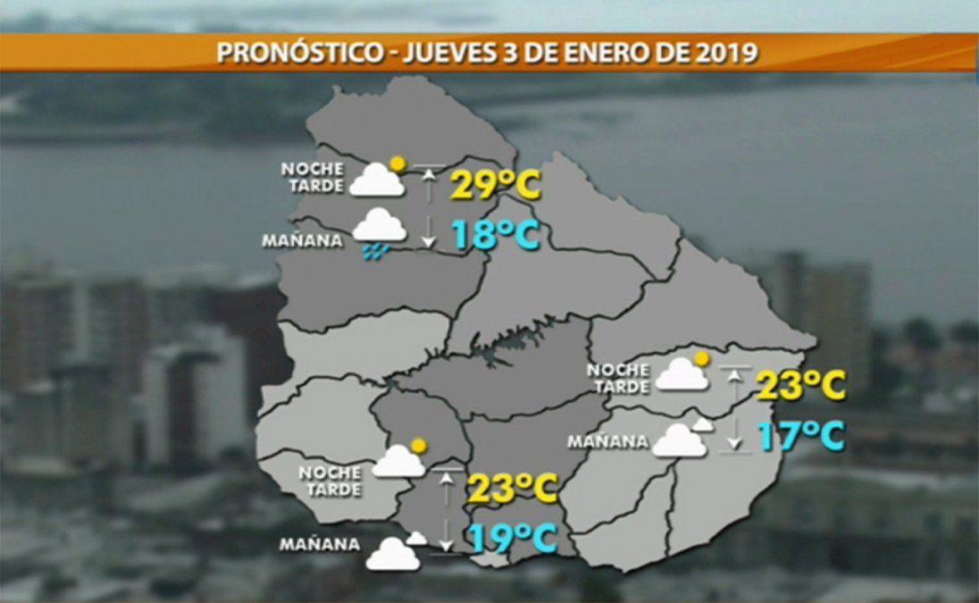 Las lluvias darán una tregua entre el viernes y el domingo, según Meteorología