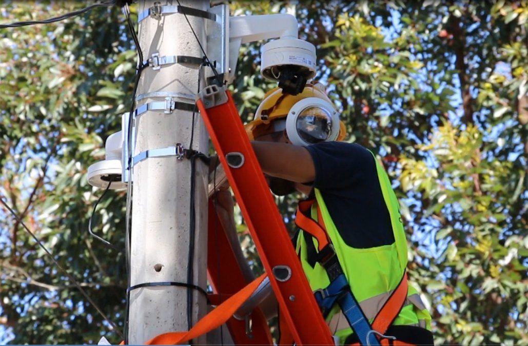 Este mes comienzan a instalar 1.000 cámaras de vigilancia en la frontera